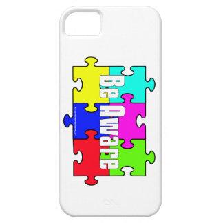 Autism Awareness Be Aware iPhone 5 case
