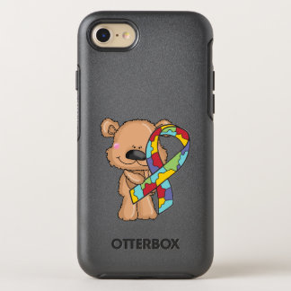 Autism Awareness Bear OtterBox Symmetry iPhone 8/7 Case
