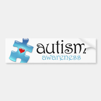 Autism Awareness Bumper Sticker (B1)