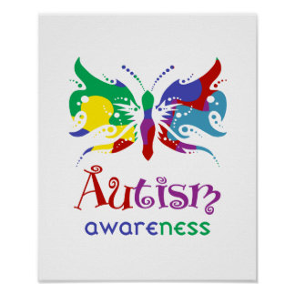 Autism Awareness Butterfly Posters