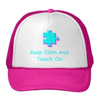 Autism awareness cap