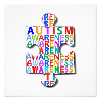 Autism Awareness Custom Invite