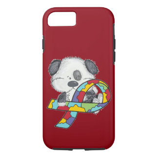 AUtism Awareness Dog iPhone 8/7 Case
