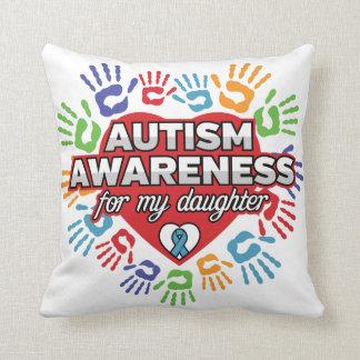 Autism Awareness for my Daughter Cushion