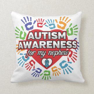 Autism Awareness for my Nephew Cushion