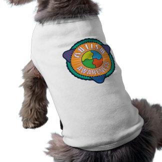 Autism Awareness Graphic Badge Dog Tank Top Dog Tee