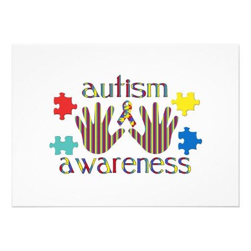 autism awareness invite