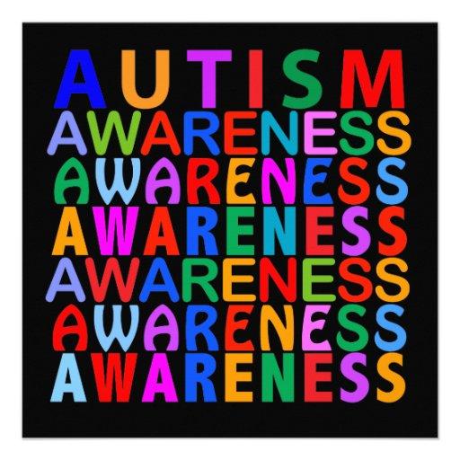 Autism Awareness Personalized Invite