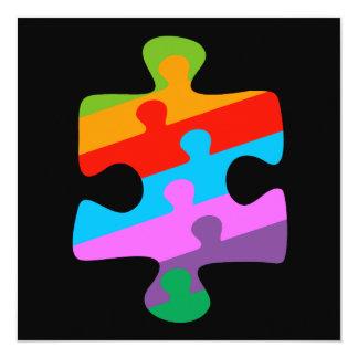 Autism Awareness 13 Cm X 13 Cm Square Invitation Card