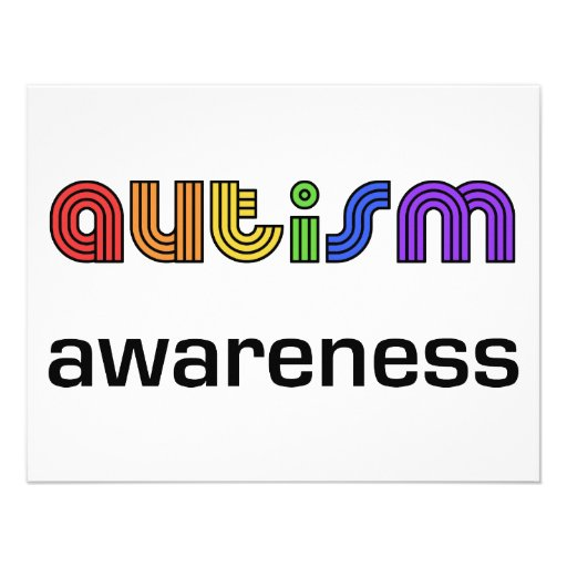 Autism Awareness! Personalized Announcement
