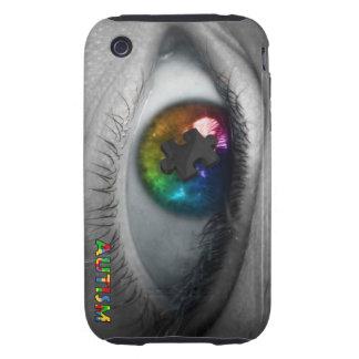 Autism Awareness iPhone 3 Case Multicolor Eye