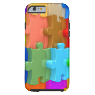 Autism Awareness iPhone 6 case 3D Multicolor Puzzl