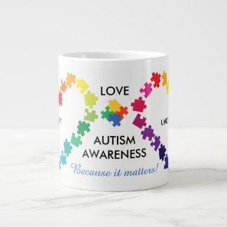 Autism Awareness Matters Large Coffee Mug