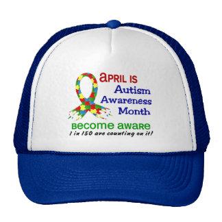 AUTISM AWARENESS MONTH APRIL CAP