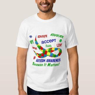 AUTISM AWARENESS MONTH APRIL T SHIRT