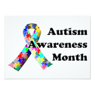 Autism Awareness Month Card