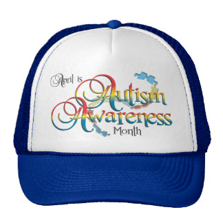 Autism Awareness Month Hat