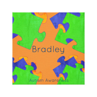 Autism Awareness Name Wall Decor