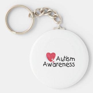 Autism Awareness (P Hrt 2) Key Ring