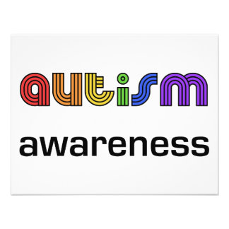 Autism Awareness Personalized Announcement