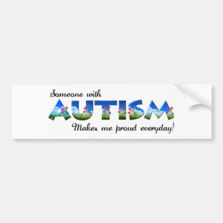 Autism Awareness pride Bumper Sticker