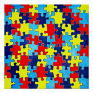 Autism Awareness-Puzzle by Shirley Taylor