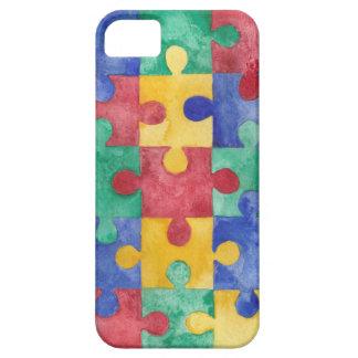 Autism Awareness puzzle case