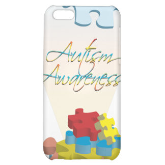 Autism Awareness Puzzle Piece  Cover For iPhone 5C