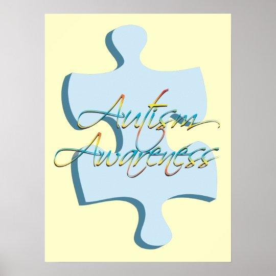 Autism Awareness Art Posters Framed Artwork