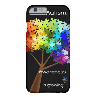 Autism Awareness Puzzle Tree iPhone 6 case