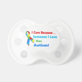 Autism awareness ribbon design dummy