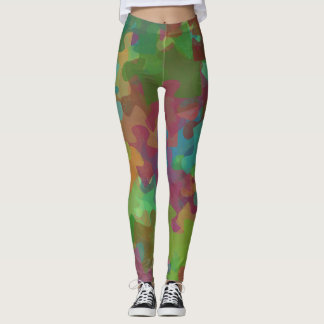 Autism Awareness Spectrum Puzzle Leggings