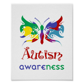 Autism Awareness (standard picture frame size) Print