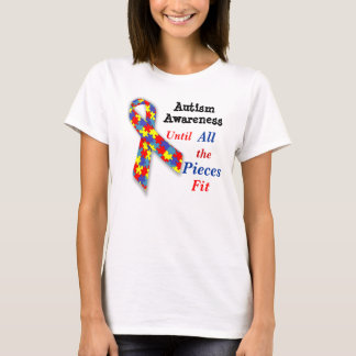 Autism Awareness t-shirt Until All the Pieces Fit