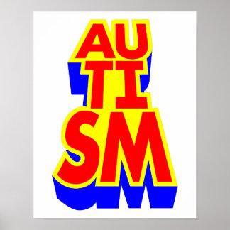 Autism Awarenss Poster