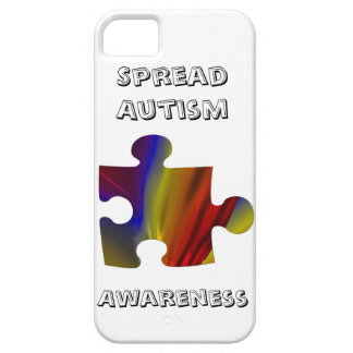 Autism Awarness Puzzle Piece Fractal Barely There iPhone 5 Case