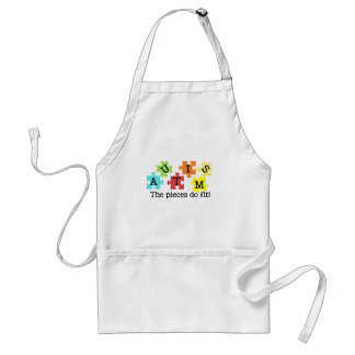 Autism Awarness Standard Apron