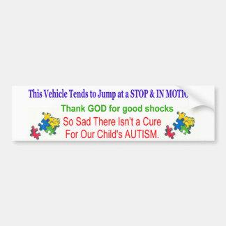 autism bumper sticker
