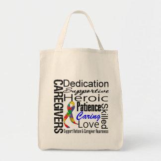 Autism Caregivers Collage Bags