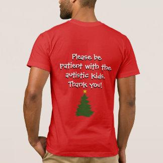 Autism Christmas Tree shirt (dark)