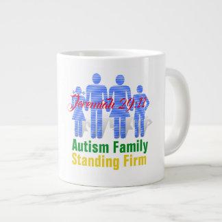 Autism Family  (Scripture)  - Jumbo Mug
