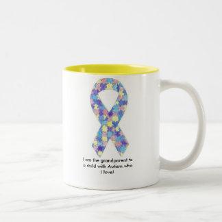 Autism Grandparent Mug