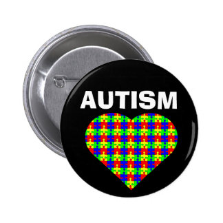 Autism Heart Button