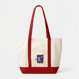 Autism Hope Love Cure  (v.2) Tote Bag