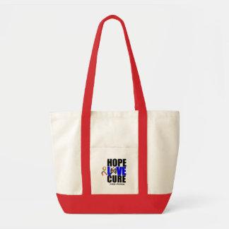 Autism Hope Love Cure v 2 Tote Bag