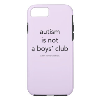 Autism is not a boys' club: smartphone case