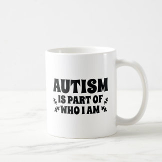 Autism Is Part Of Who I Am Coffee Mug