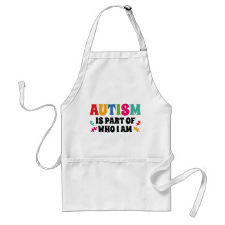 Autism Is Part Of Who I Am Standard Apron