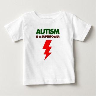 Autism is super power, children, kids, mind mental baby T-Shirt