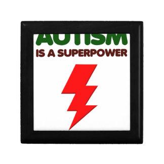 Autism is super power, children, kids, mind mental gift box